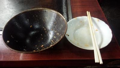 140617カツ丼完食