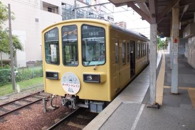 近江鉄道 近江八幡駅 構内