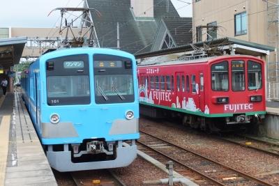 近江鉄道 八日市駅 構内