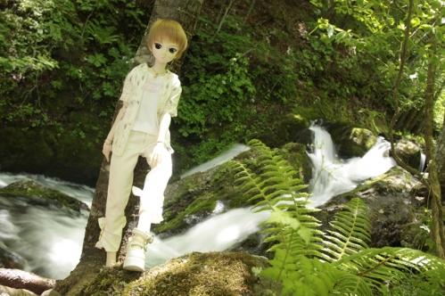 もみじ滝にて2