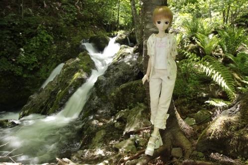 もみじ滝にて6