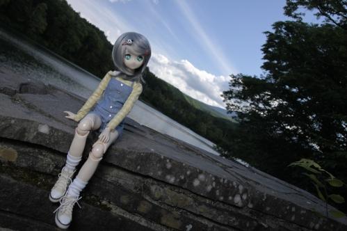 松原湖にて5