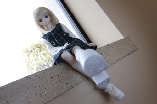 窓辺にて6