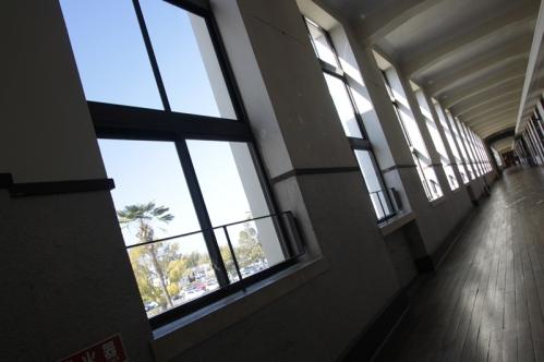 2階北廊下