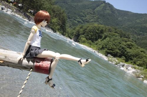 付知峡にて4