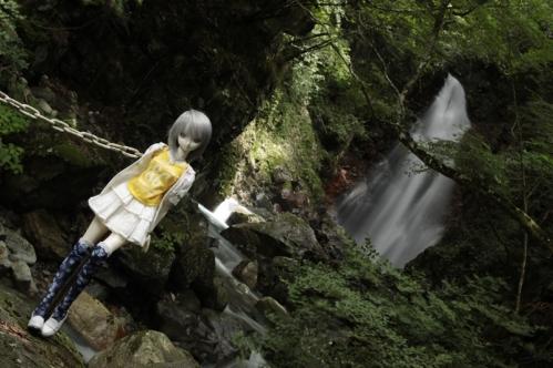 大滝にて8