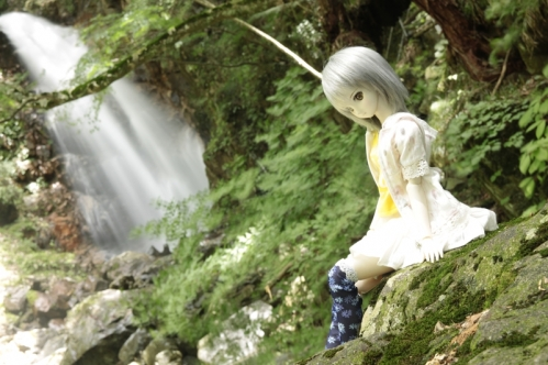 大滝にて5