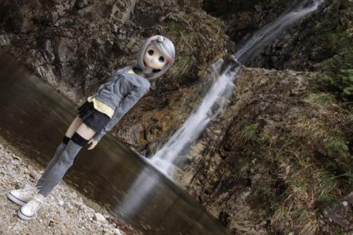 御所滝にて