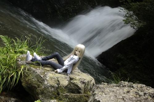 二見滝にて3