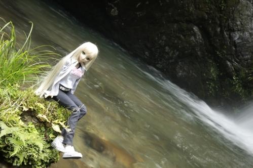 二見滝にて5