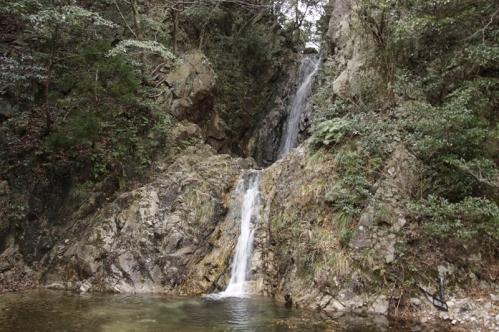 御所滝近景