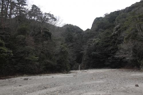 御所滝遠景