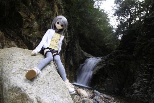 魚止滝にて5