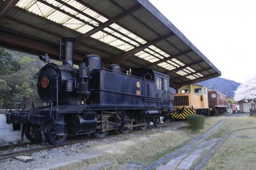 ウィステリア鉄道留置車両