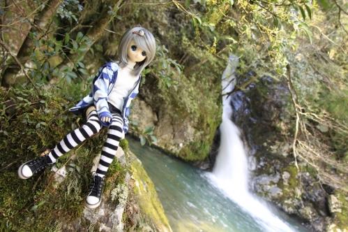 紅葉滝にて5