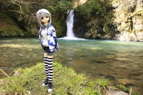 紅葉滝にて6
