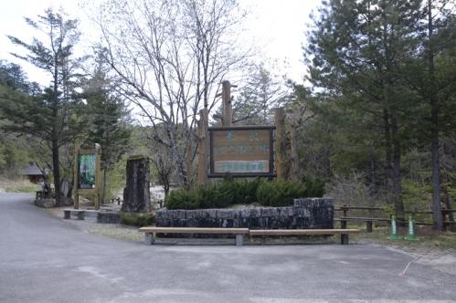 赤沢休養林入口
