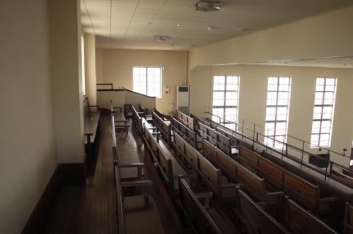 二階講堂桟敷席全景