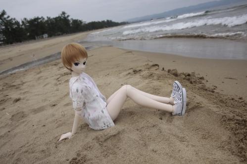 雨晴海岸にて5