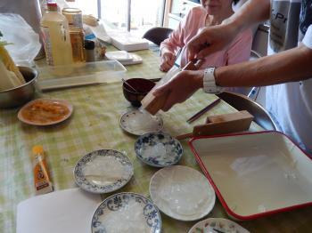 糖尿病の方の料理教室4