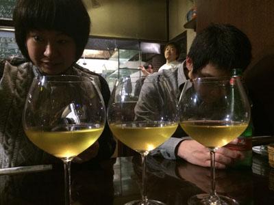 ナポリ。ワイン