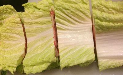 白菜に三枚肉