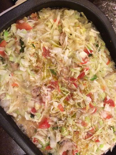 トマトオリーブオイル黒胡椒