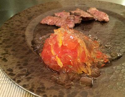 トマトのお漬け物