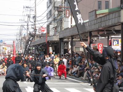 GW  小田原 北条五代祭りに行く