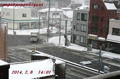 記録的大雪★