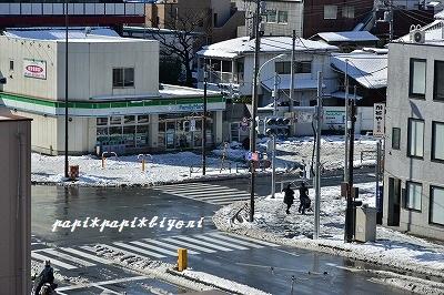 記録的大雪★翌日