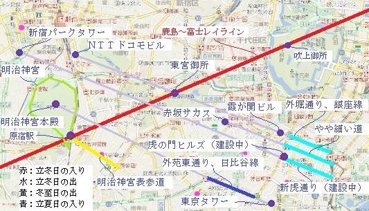日の入り 東京 日の出