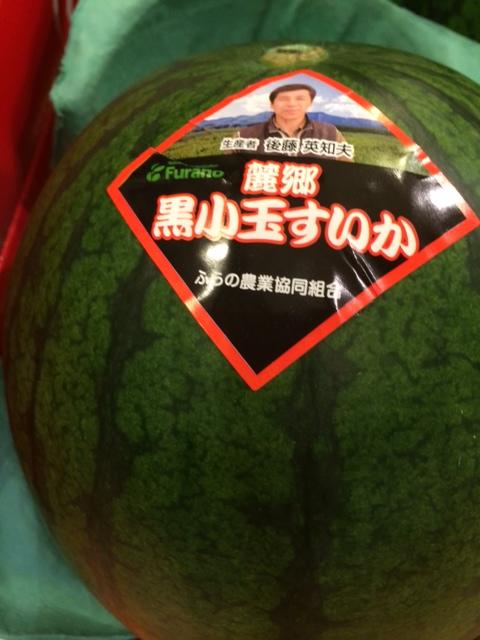 黒小玉西瓜