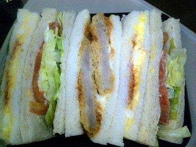 サンドウィッチ。