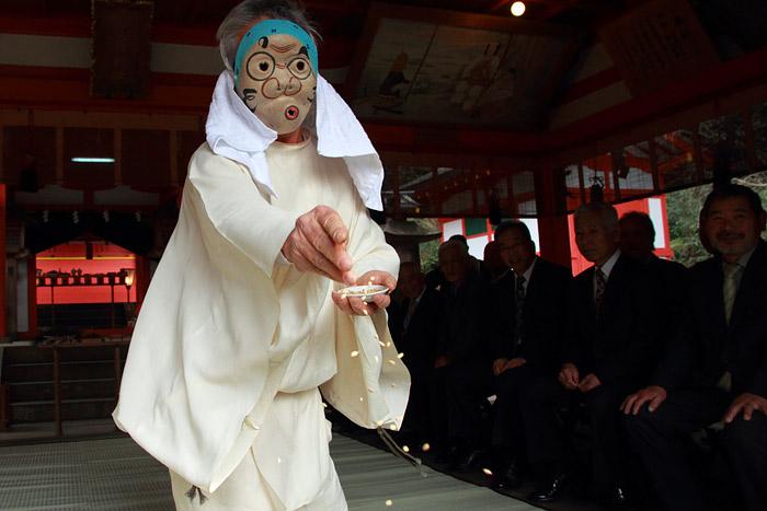 畝火山口神社 御田植祭2