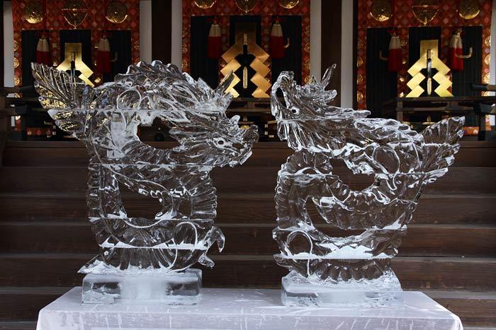 氷室神社 献氷祭・舞楽1