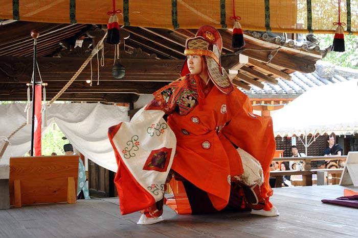 氷室神社 献氷祭・舞楽3