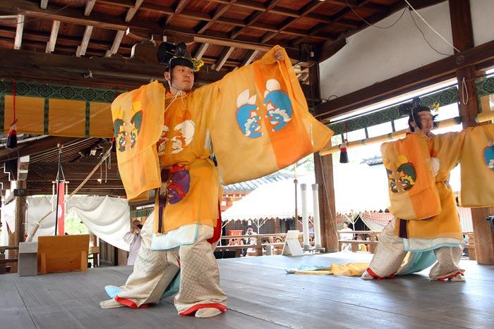 氷室神社 献氷祭・舞楽4