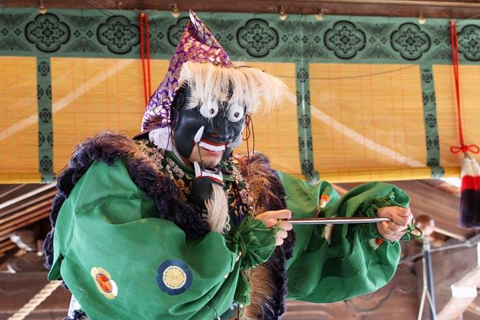 氷室神社 献氷祭・舞楽6
