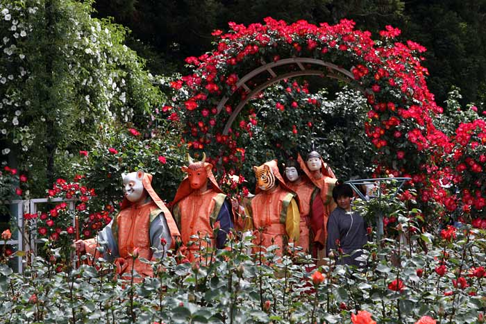 霊山寺 薔薇会式1