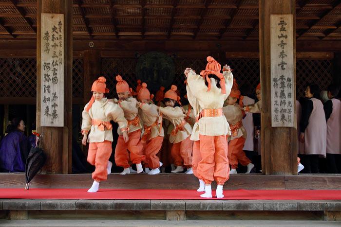 霊山寺 薔薇会式4