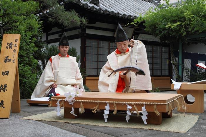 漢国神社 式庖丁1