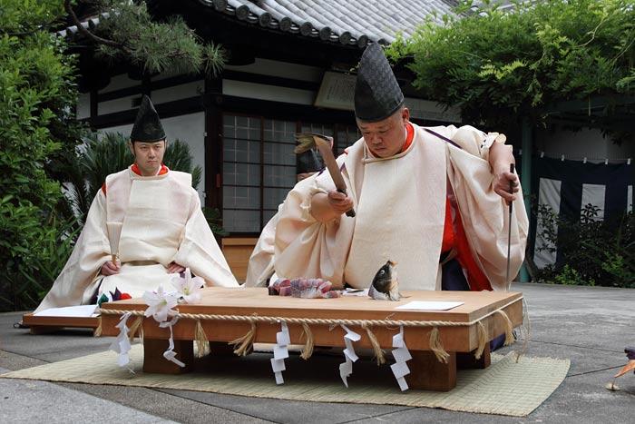 漢国神社 式庖丁3