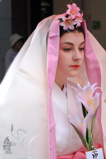 率川神社 ゆり祭り3