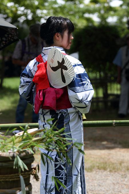 大安寺 竹供養4