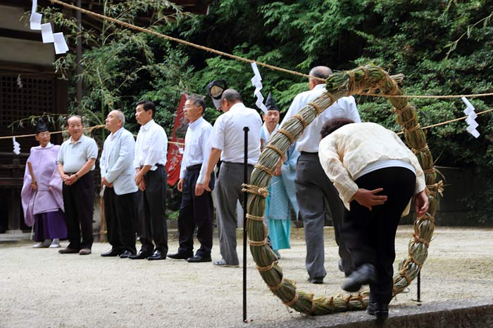村屋神社夏越の大祓式1