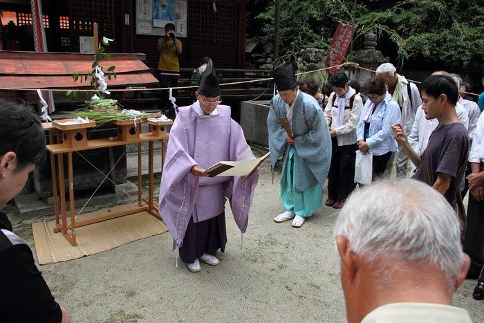 村屋神社夏越の大祓式2