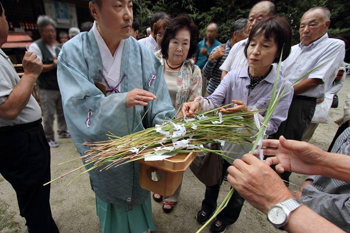 村屋神社夏越の大祓式3
