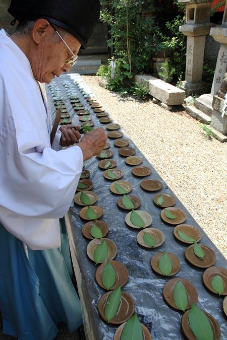 奈良豆比古神社 花摘祭2