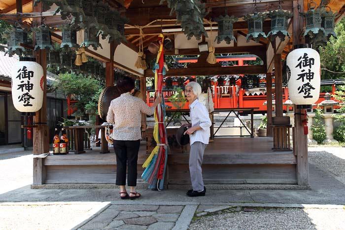 奈良豆比古神社 花摘祭1